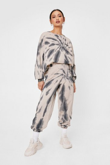 Nude Petite Tie Dye Sweatshirt and Joggers Set