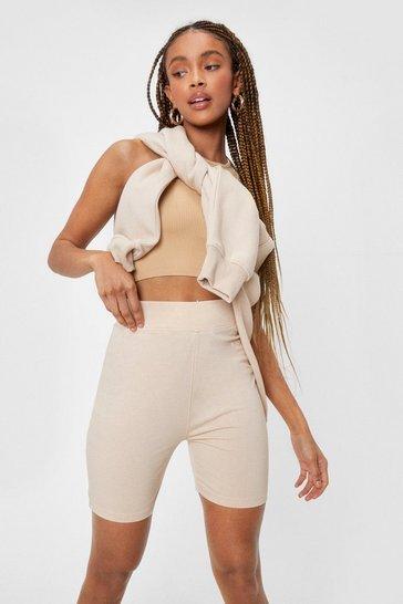 Sand Work It Out High-Waisted Biker Shorts