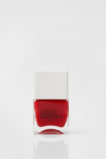 Nails Inc Plant Power Red Vegan Nail Polish