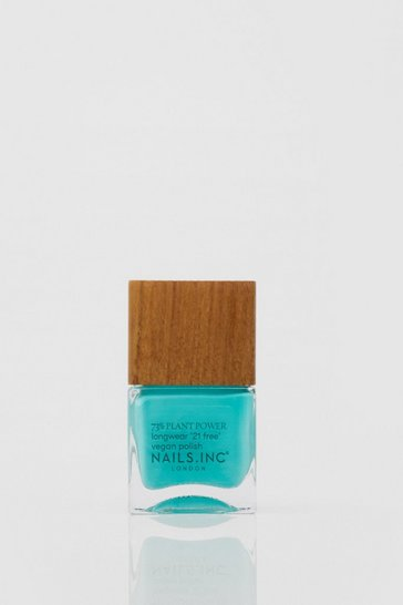 Nails Inc Plant Power Aqua Vegan Nail Polish