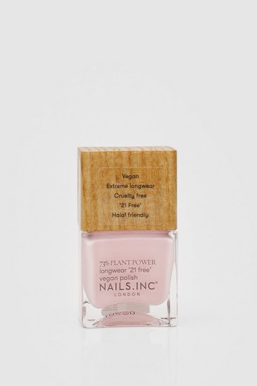 Nails Inc Plant Power Pink Vegan Nail Polish