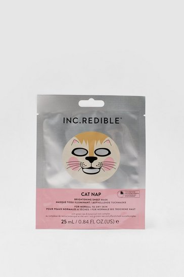 Silver Inc.redible Cat Nap Brightening Sheet Mask