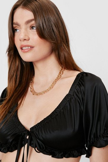 Gold Double Rope Chain Necklace