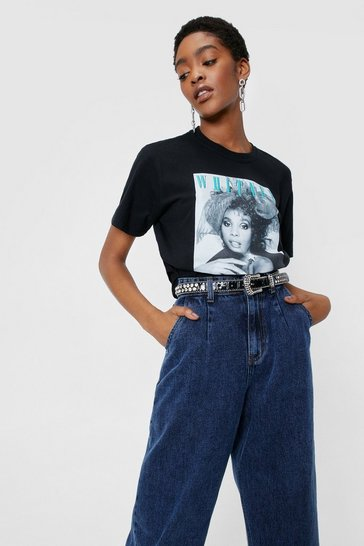 Black Whitney License T-shirt