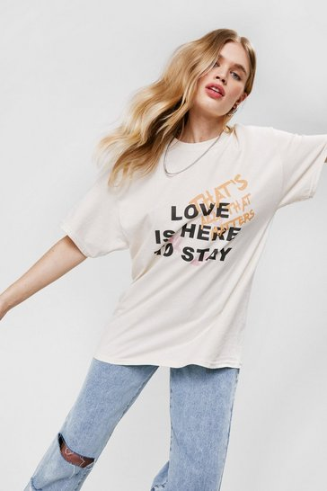 Sand Love Is Here To Stay T-shirt