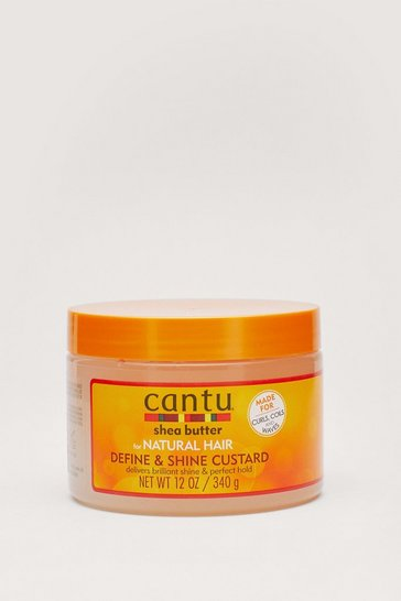 Orange Cantu Shea Butter Define and Shine Hair Custard