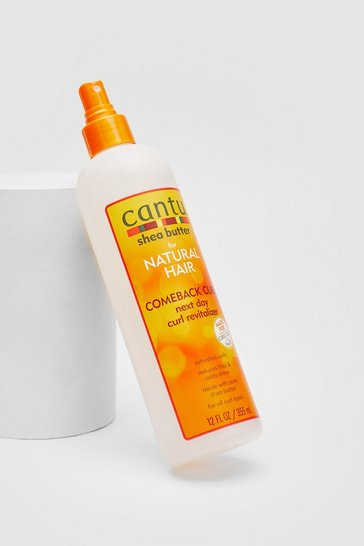 Orange Cantu Shea Butter Comeback Curl Spray