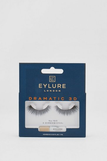 Black Eylure Dramatic 3D 193 False Lashes