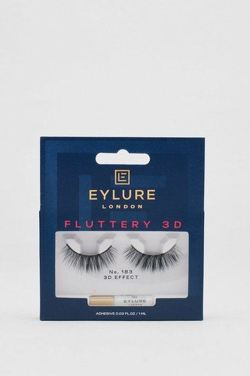 Black Eylure Fluttery 3D 183 False Lashes