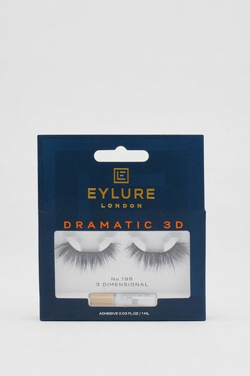 Black Eylure Dramatic 3D 196 False Lashes