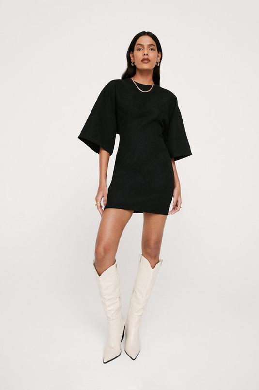 Boxy Mini Shift Dress | NastyGal