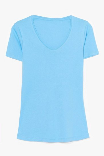 Bluebell It's Just That Simple V-Neck Tee