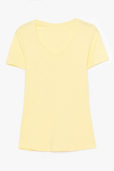 Lemon It's Just That Simple V-Neck Tee