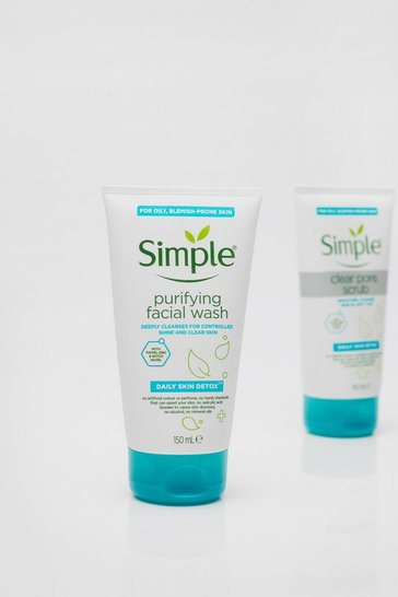 White Simple Detox Purifying Facial Wash 150ml
