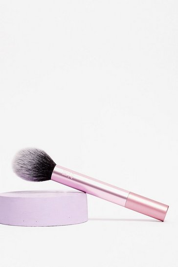 Purple Real Techniques Fluffy Blusher Makeup Brush