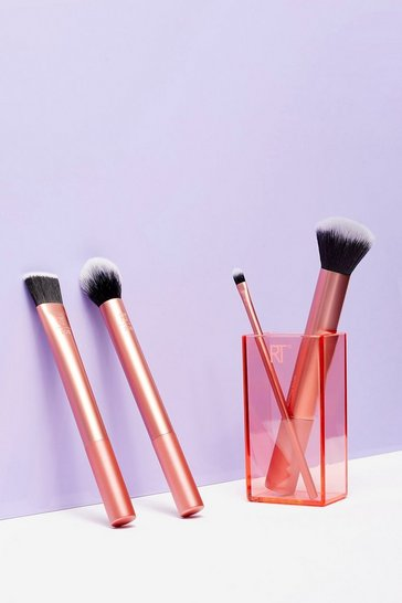 Orange Real Techniques 4-Pc Brush Set
