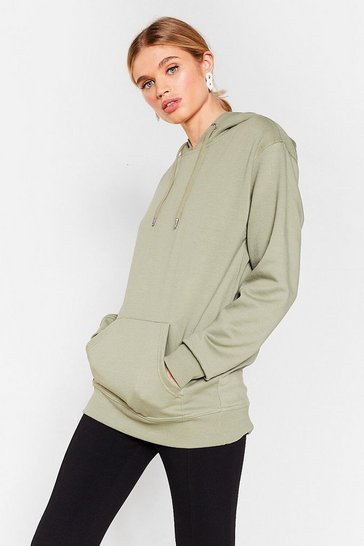 Sage Ease the Opportunity Oversized Hoodie