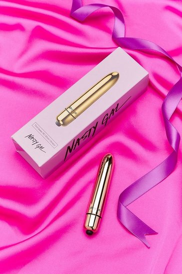 Gold Nasty Gal Thrill Seeker Vibrator