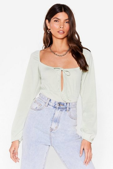 Sage Sweet On You Bodysuit