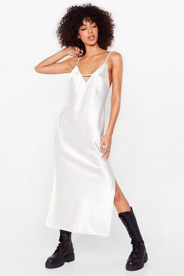 Silver Rhythm of the Night Petite Midi Dress