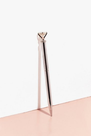Silver Diamond Pen
