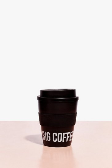 Black Big Coffee Energy Cup