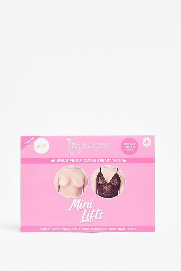 Beige Perky Pear A Mini Breast Lift Tape