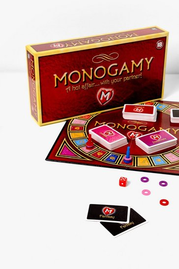 Red Put a Label on It Monogamy Board Game