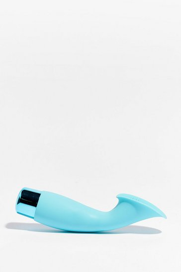 Blue Textured 10 Speed Climaxer Vibrator