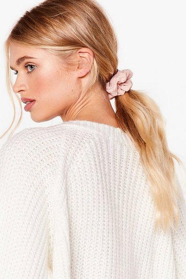 Scrunchie Three Pack , Pink