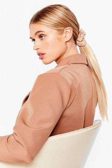 Nude Scrunchie Three Pack