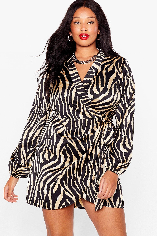 Fuck What You Herd Plus Zebra Dress 8