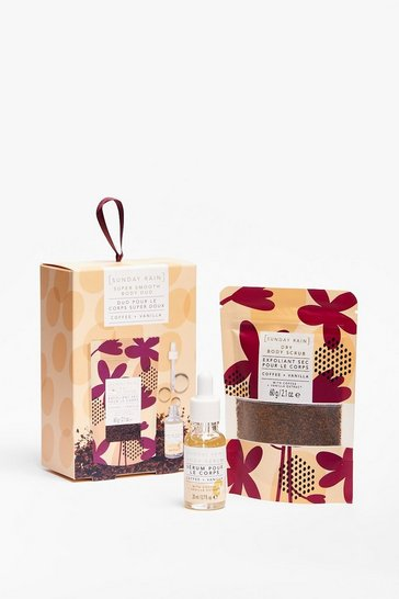 Brown Sunday Rain Smooth Sailing Body Gift Set