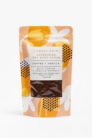 Brown Sunday Rain Glow Your Worth Coffee Body Scrub
