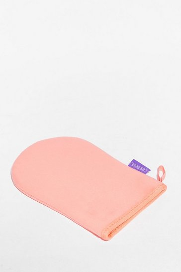 Peach Sunkissed Smooth It Velvet Tanning Mitt
