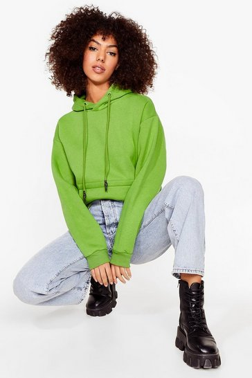 Green We're On Track Pullover Hoodie