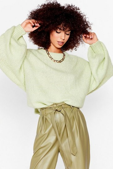 Sage Knit's Gotta Happen Relaxed Longline Sweater
