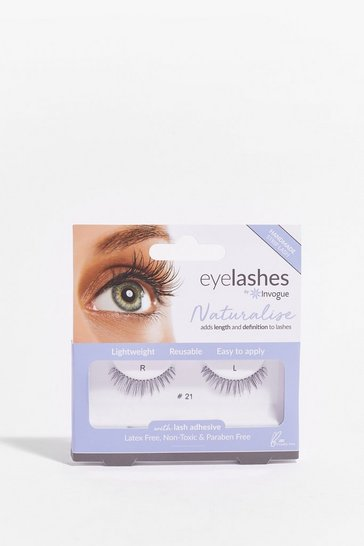 Black Invogue We're an Natural False Eyelashes