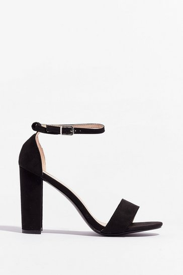 Black New Kid On the Block Heels
