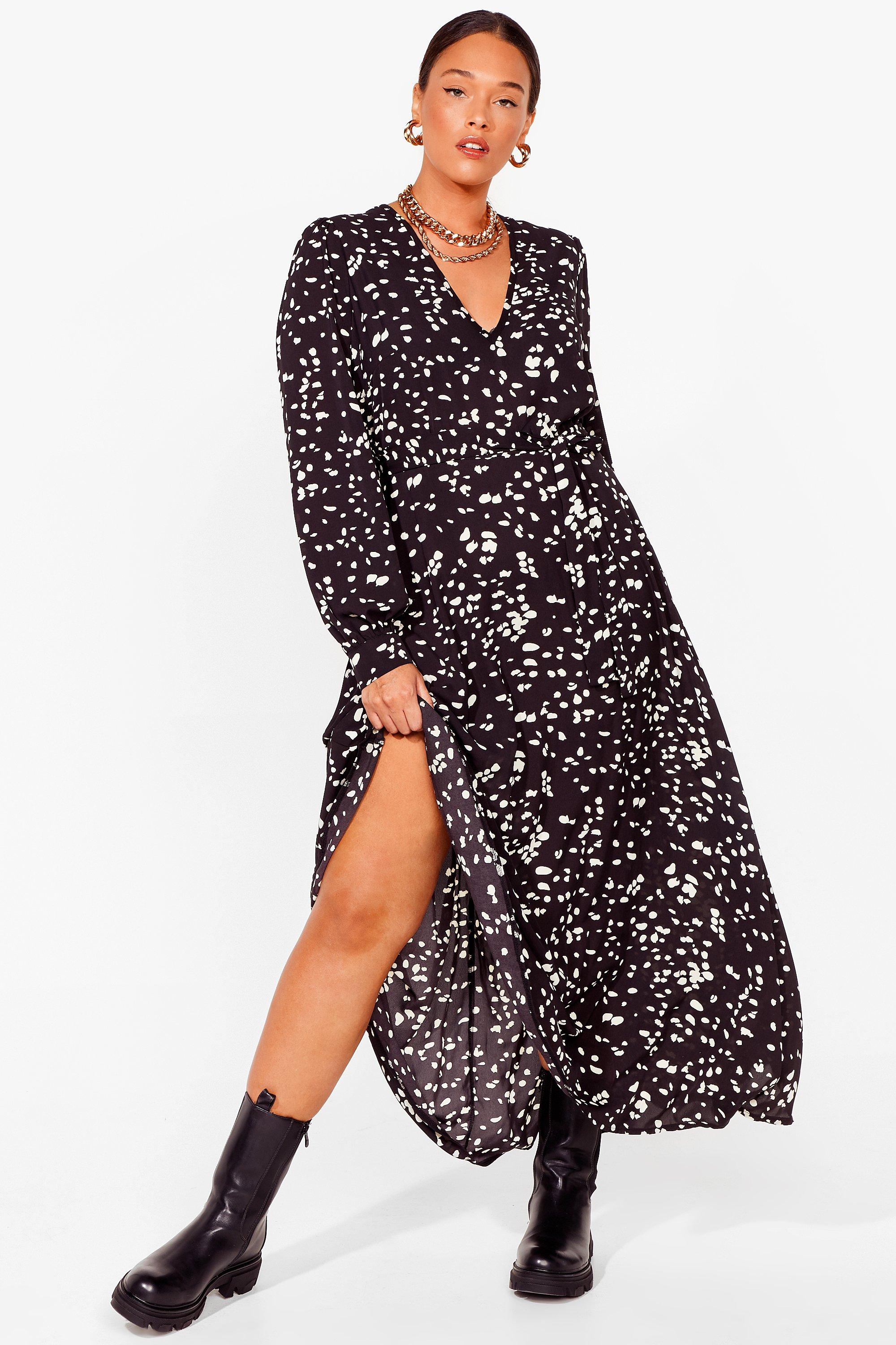 Spot's Your Point Plus Maxi Dress 15