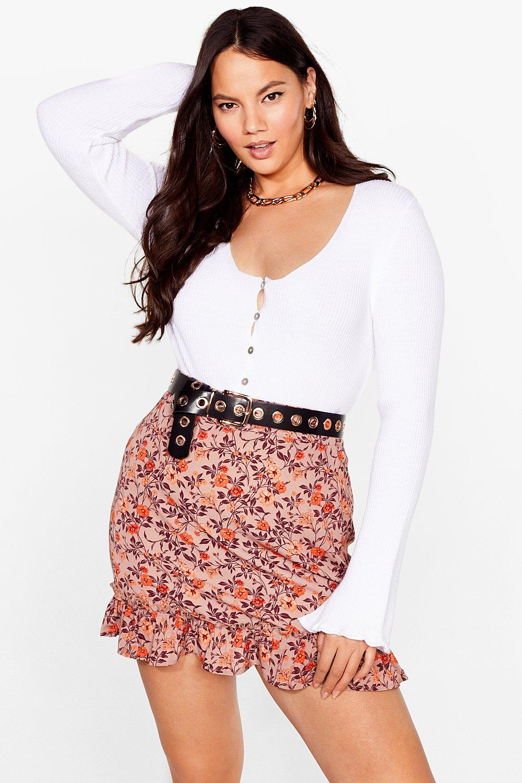 Looks Bud on You Floral Mini Skirt 8