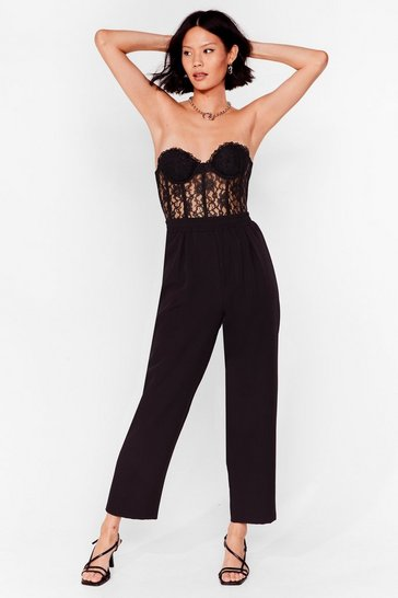Black Taper Your Time High-Waisted Pants