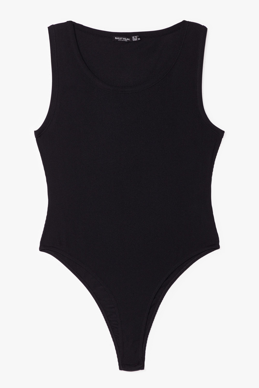 In the Scoop Ribbed Bodysuit 8