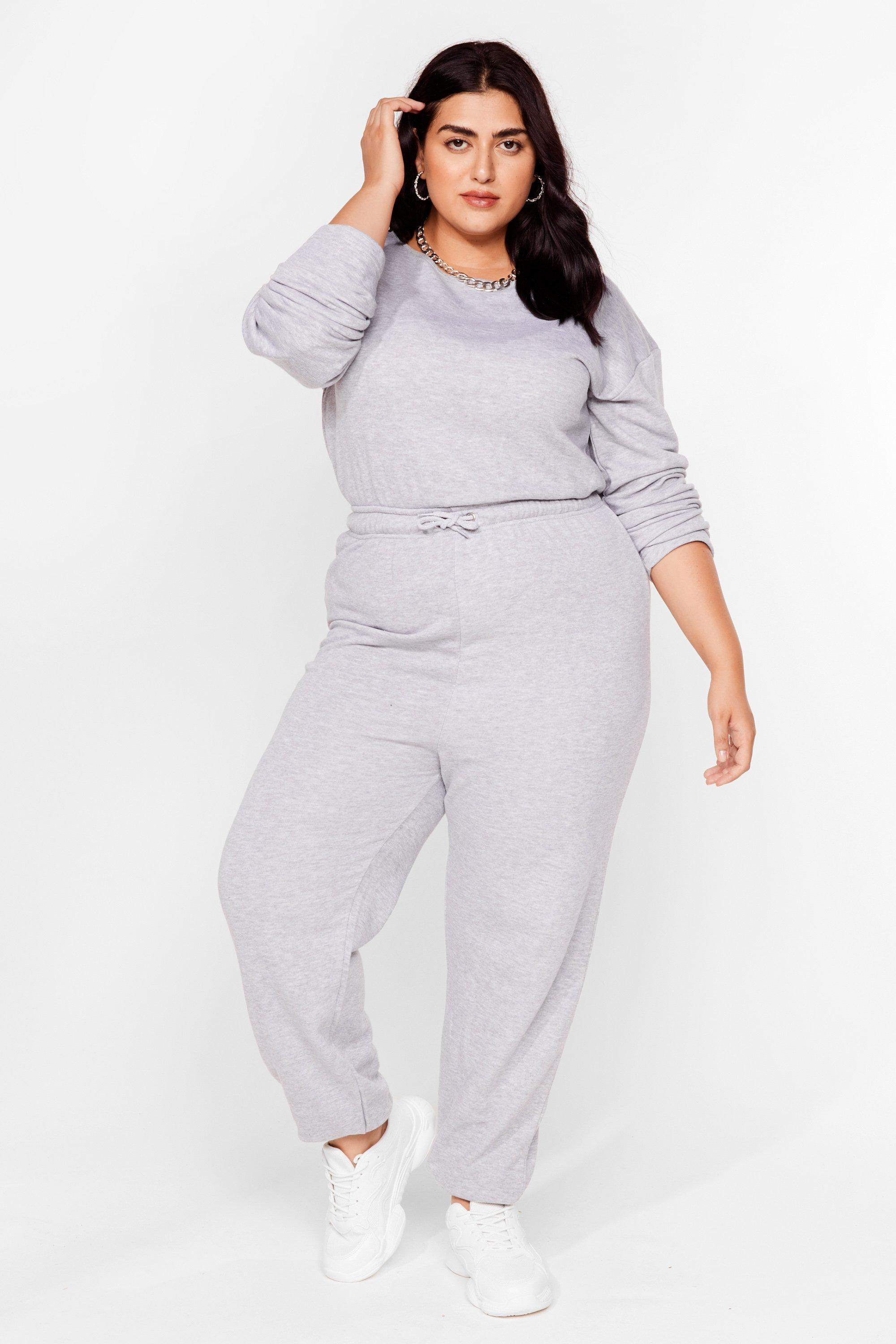 Keep It Casual Plus Lounge Jumpsuit 18
