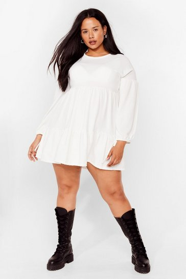 Ivory Tier's the Deal Plus Mini Dress