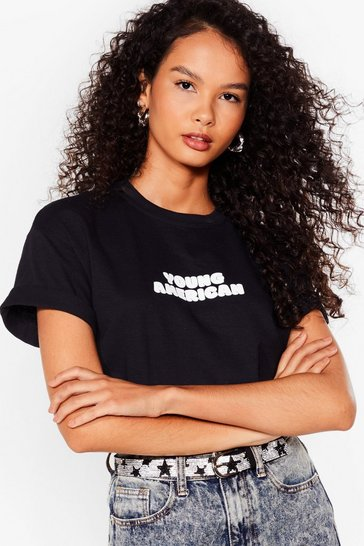 Black Young Americans Graphic Tee