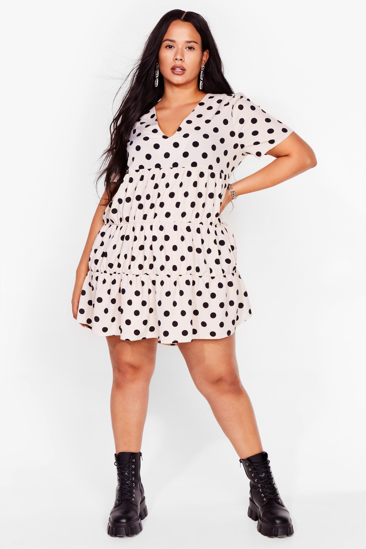 Smock to the System Polka Dot Mini Dress 6