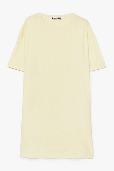 Lemon Easy Does It Plus Tee Dress