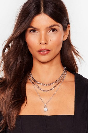 Silver Our Kind of Threesome Layered Necklace