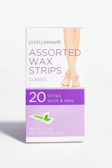 White Smooth Your Body 20-Pc Assorted Wax Strips
